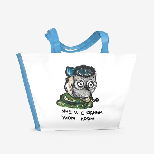 Пляжная сумка «Сова Ван Гог»