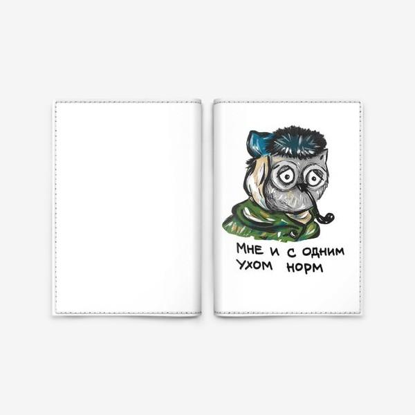 Обложка для паспорта «Сова Ван Гог»
