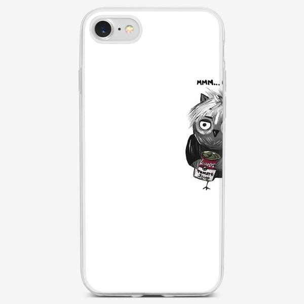 Чехол iPhone «Сова Уорхол»