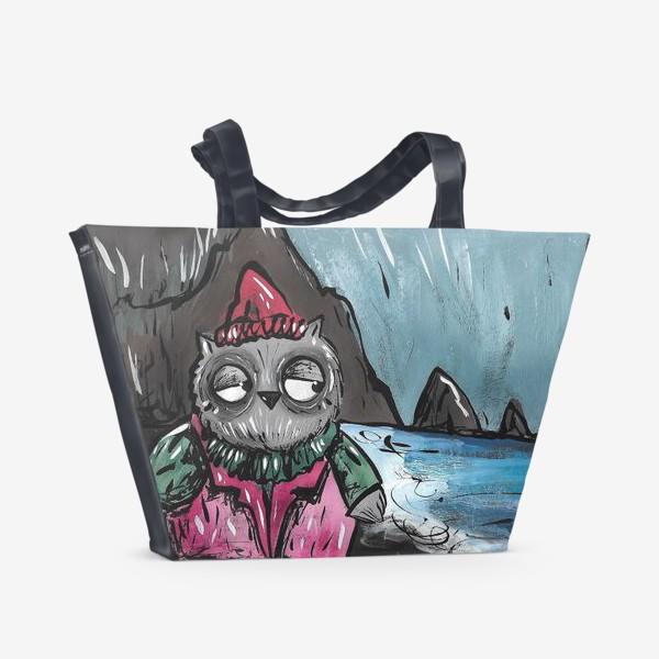 Пляжная сумка «Совушка»