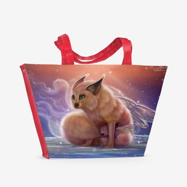 Пляжная сумка «Семья Ушаньчиков »