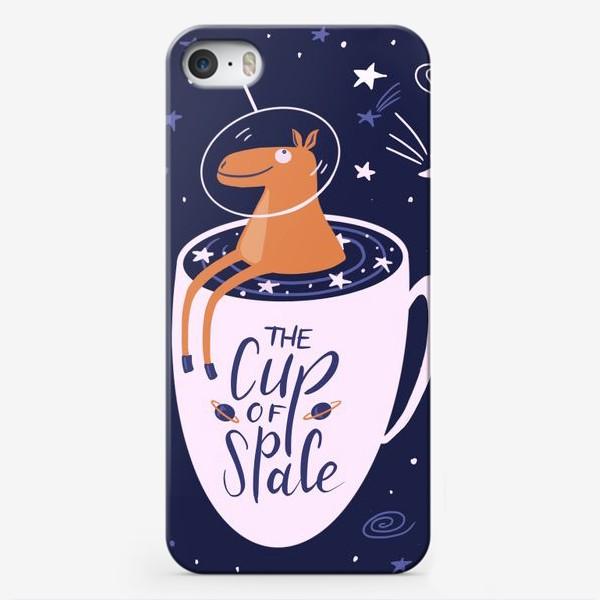 Чехол iPhone «Чашечка космоса»