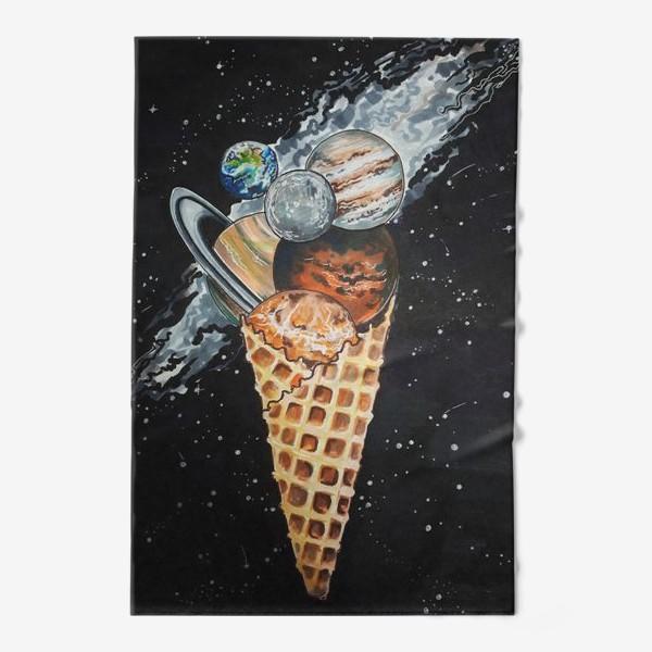 Полотенце «Холодный космос»