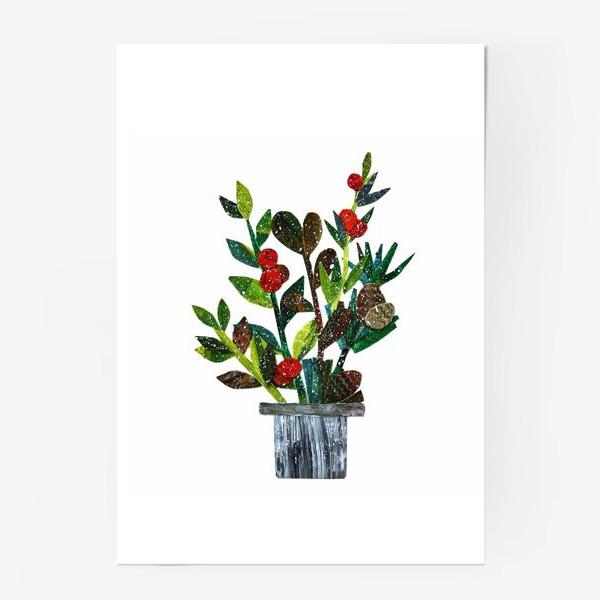 Постер «с ягодами»
