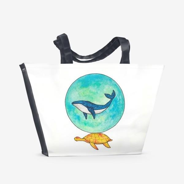 Пляжная сумка «Легенда о космосе »