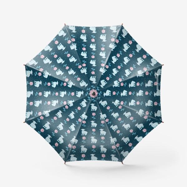 Зонт «МАЛЕНЬКИЙ ПРИНЦ: РОЗА И БАРАШЕК»