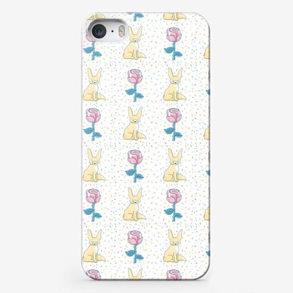 Чехол iPhone «МАЛЕНЬКИЙ ПРИНЦ: ЛИС И РОЗА»