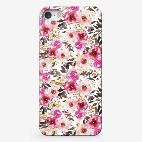 Чехол iPhone «цветочный»