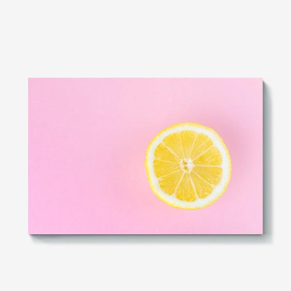 Холст «Лимон»