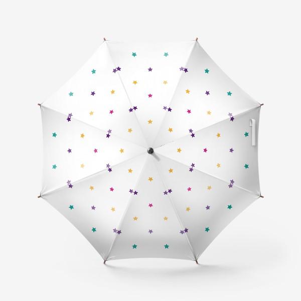 Зонт «Разноцветные звезды»