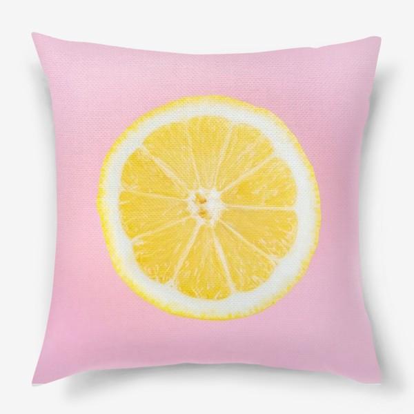 Подушка «Лимон»