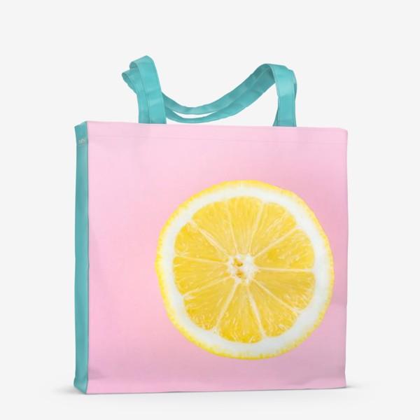 Сумка-шоппер «Лимон»