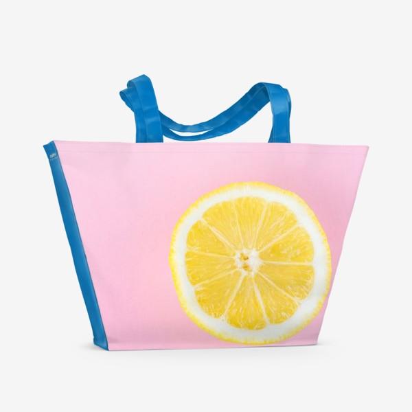 Пляжная сумка «Лимон»