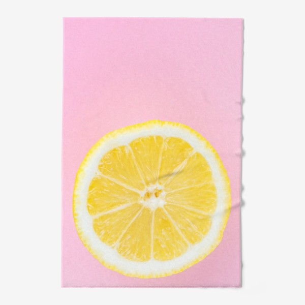 Полотенце «Лимон»