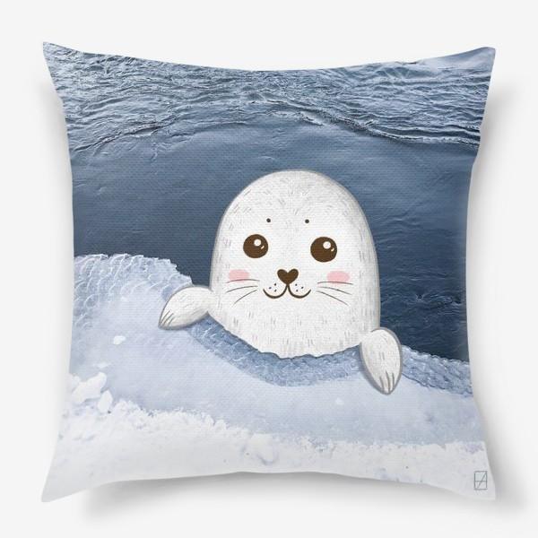 Подушка «Милый тюлень»