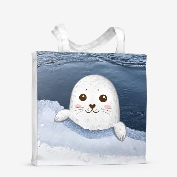 Сумка-шоппер «Милый тюлень»
