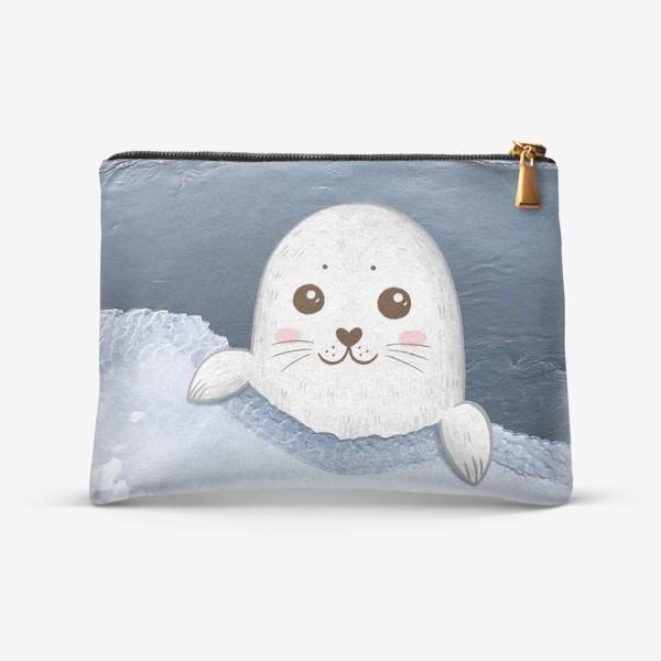 Косметичка «Милый тюлень»
