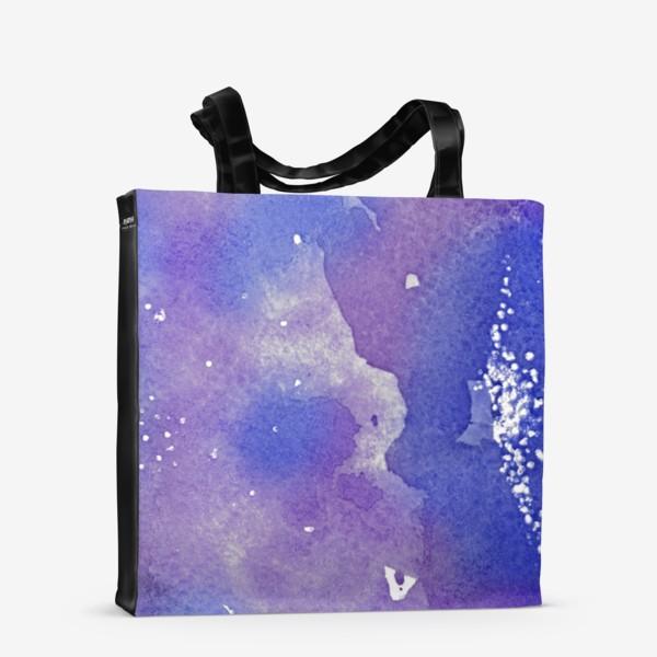 Сумка-шоппер «Космическая акварель»