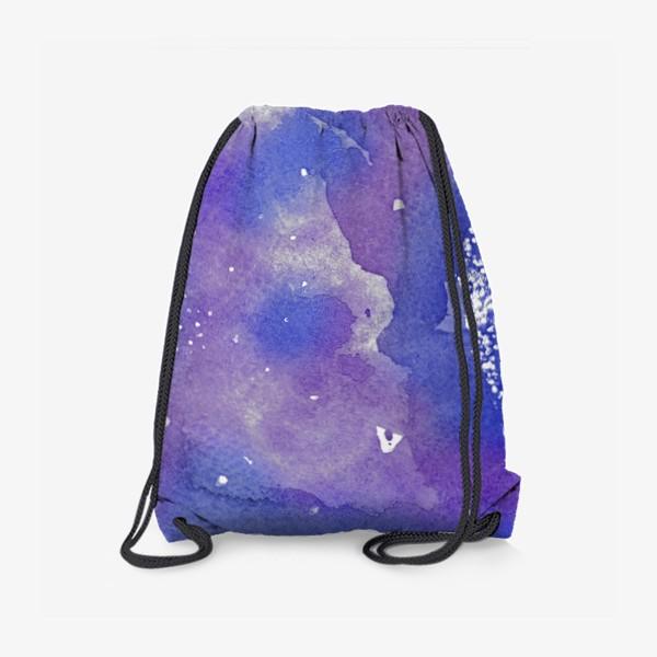 Рюкзак «Космическая акварель»