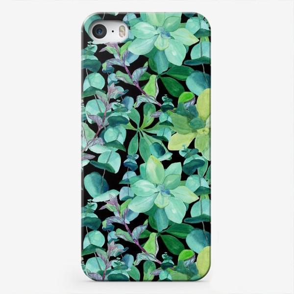 Чехол iPhone «Дикая мята и эвкалипт »