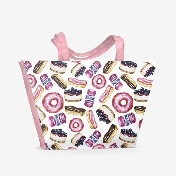 Пляжная сумка «сладости»