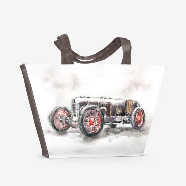 Пляжная сумка «Автомобиль»