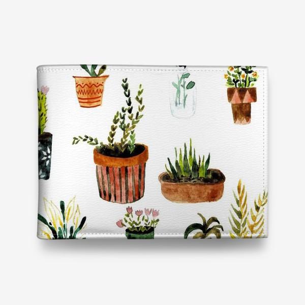 Кошелек «Комнатные растения»