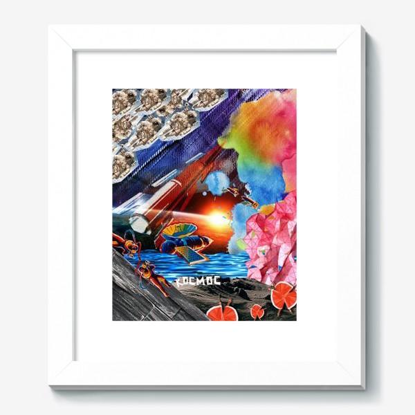 Картина «Космос коллаж space»