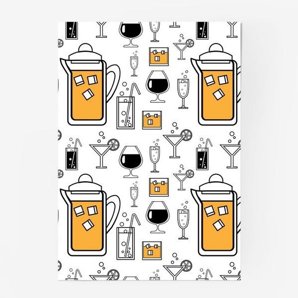 Постер «Напитки»