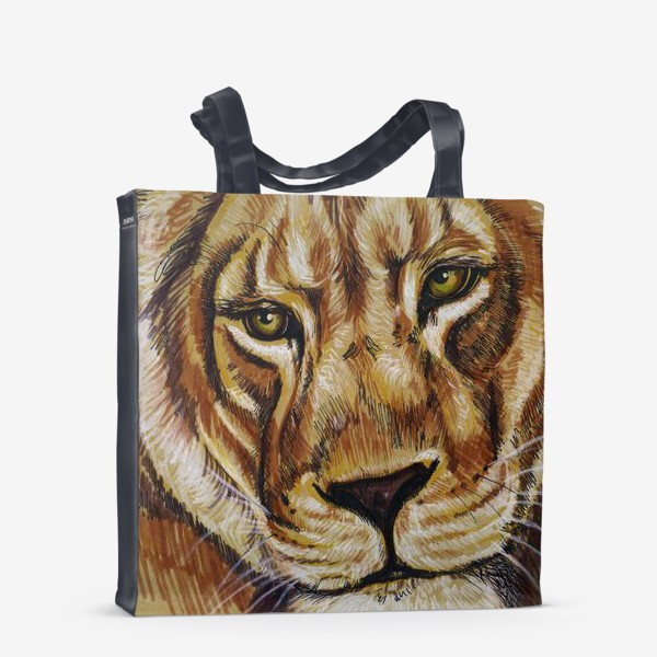 Сумка-шоппер «львица »
