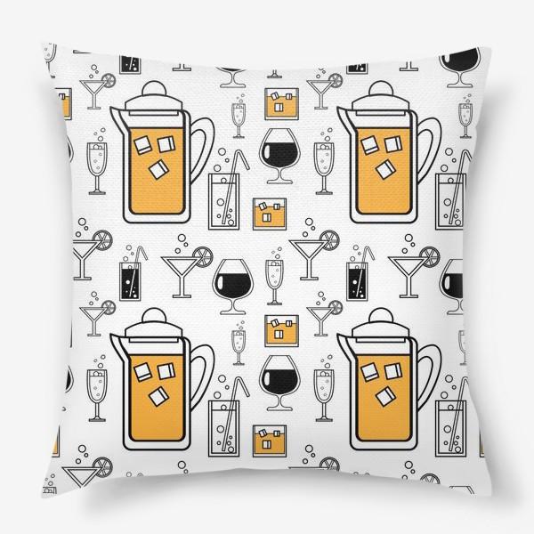 Подушка «Напитки»