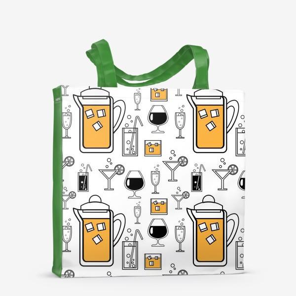 Сумка-шоппер «Напитки»