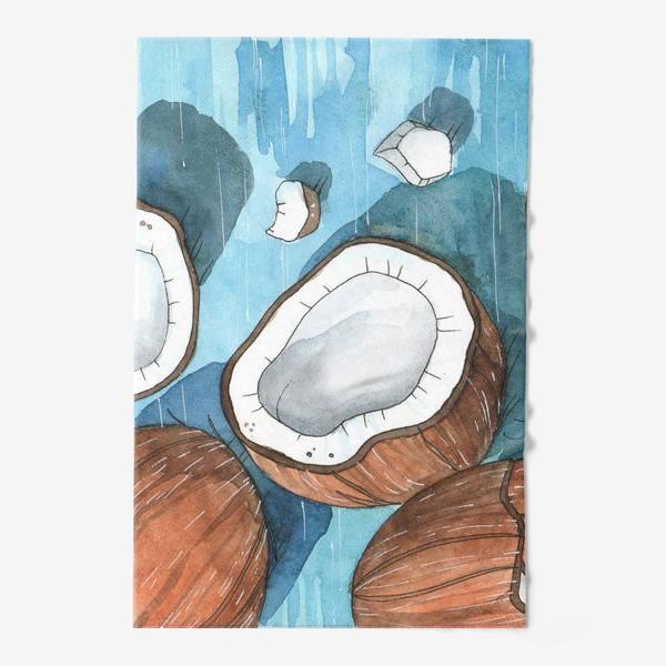 Полотенце «Кокосы»