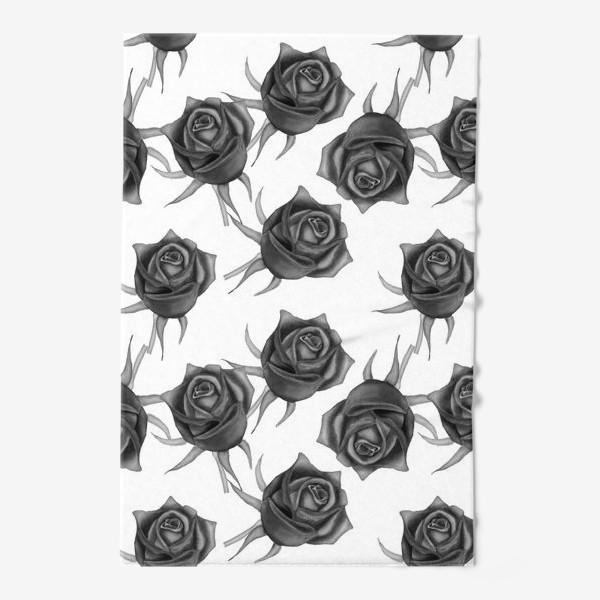 Полотенце «Акварельные розы»