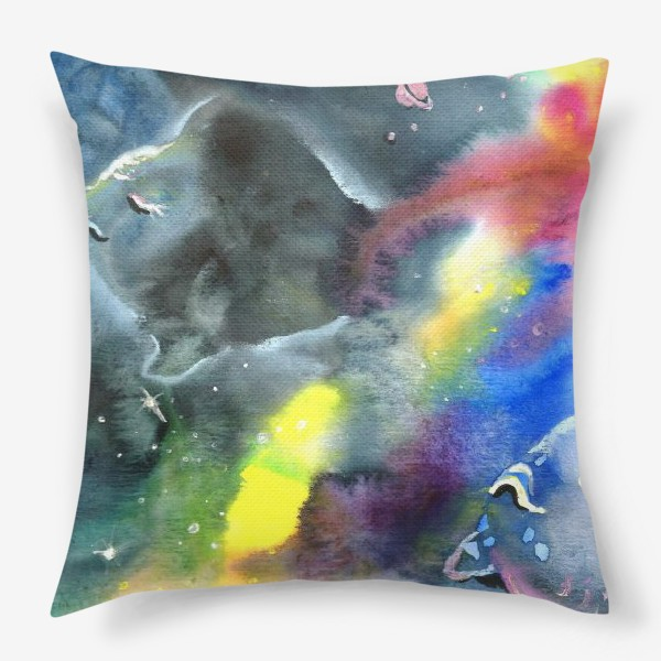 Подушка «Космический океан»