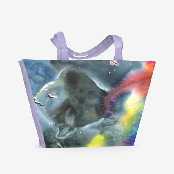 Пляжная сумка «Космический океан»