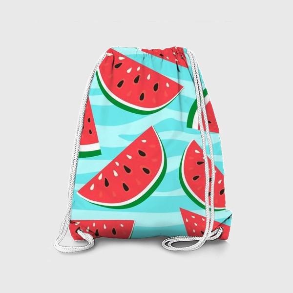 Рюкзак «Арбузный узор»
