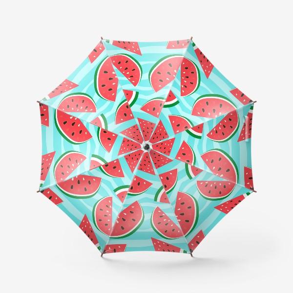 Зонт «Арбузный узор»