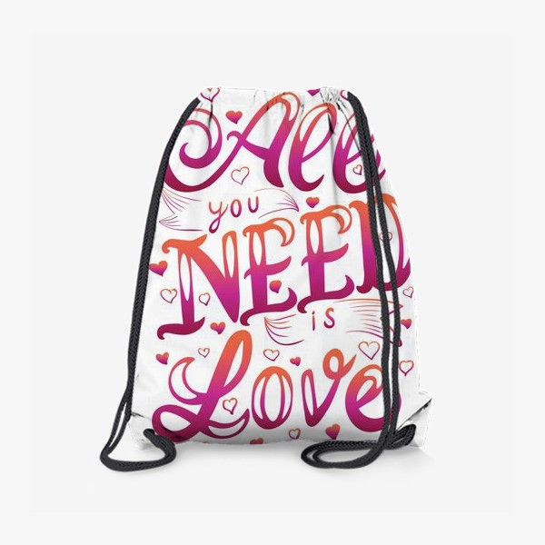 Рюкзак «all you nees is love»