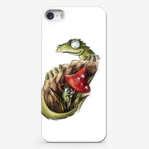 Чехол iPhone «pangolin mushroom»