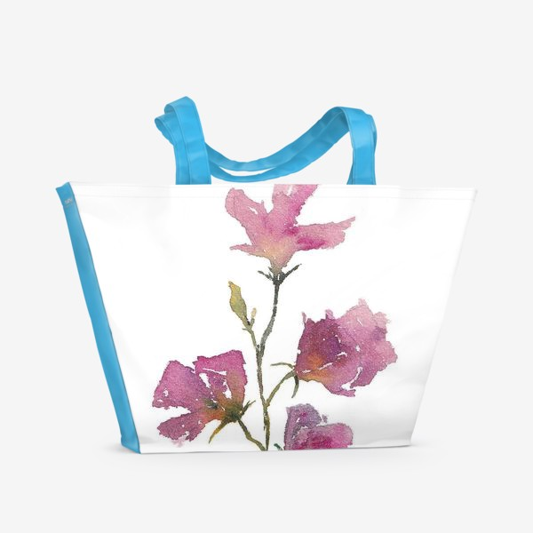 Пляжная сумка «Букет цветов»