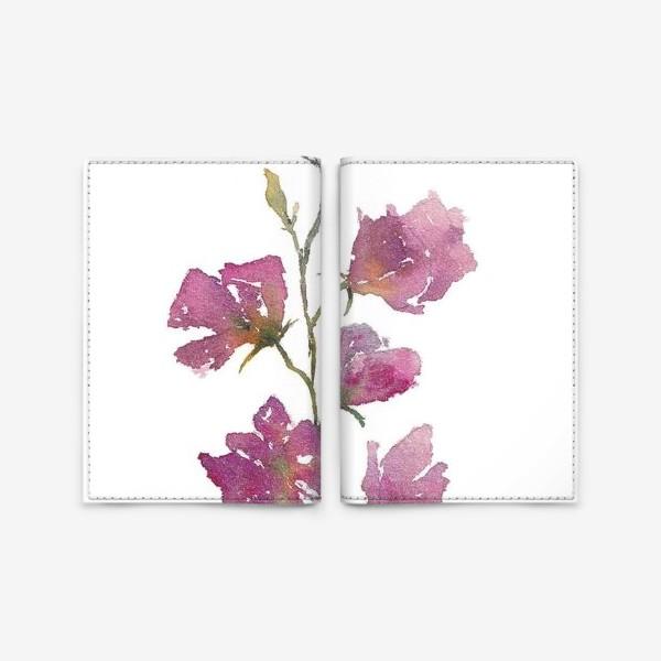 Обложка для паспорта «Букет цветов»