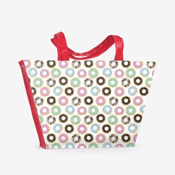 Пляжная сумка «donuts»