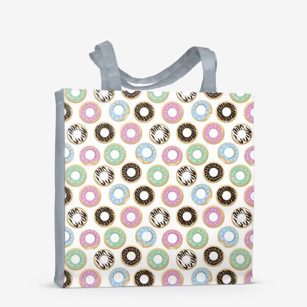 Сумка-шоппер «donuts»