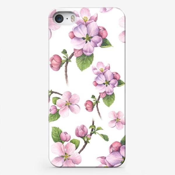 Чехол iPhone «Цветение яблони»