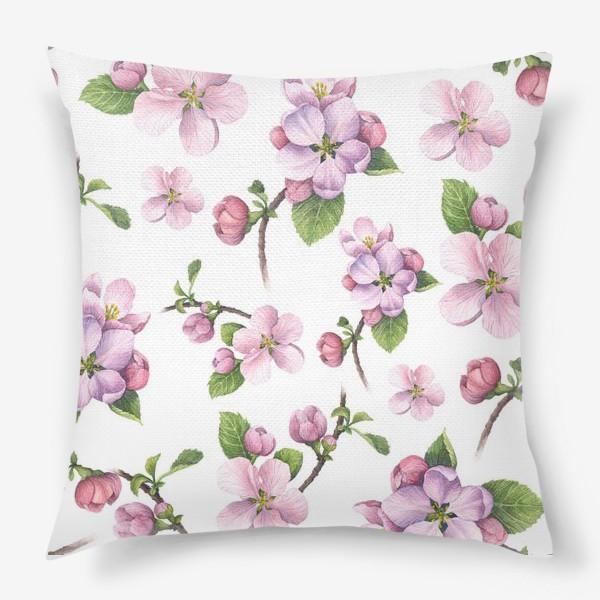 Подушка «Цветение яблони»