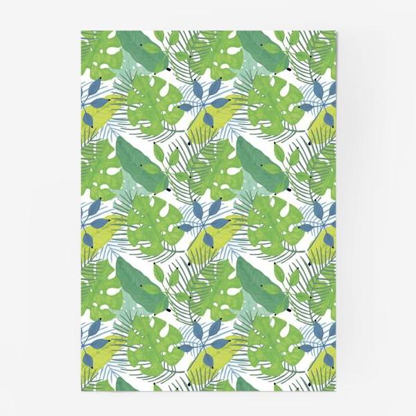 Постер «Тропические растения»