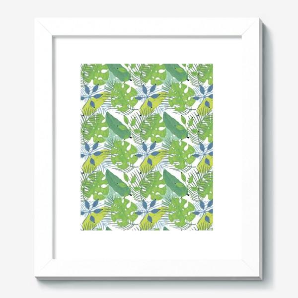 Картина «Тропические растения»