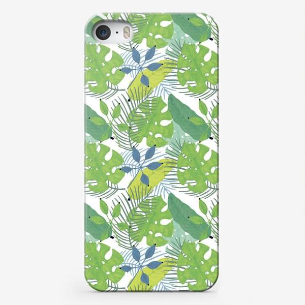 Чехол iPhone «Тропические растения»