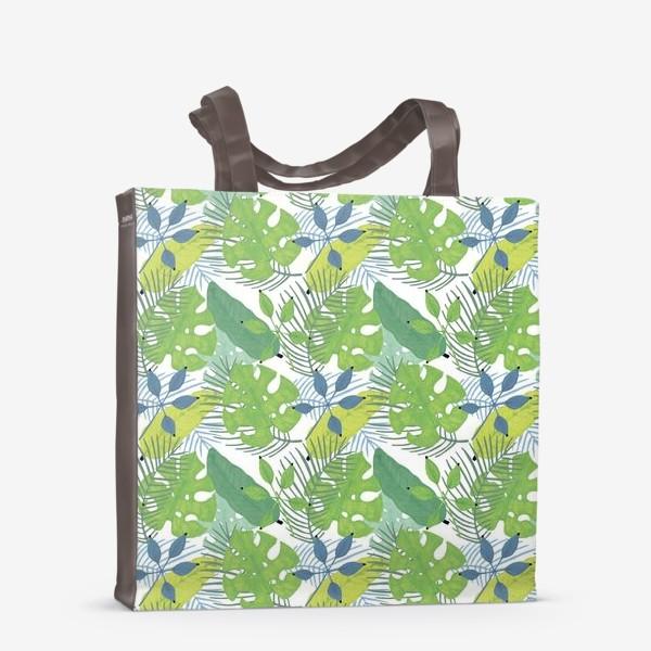 Сумка-шоппер «Тропические растения»